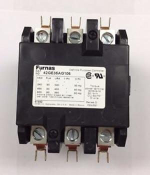~~42HF15AGTZ-Furnas Definite Purpose Contactor 2 Poles 120 Amp 240V