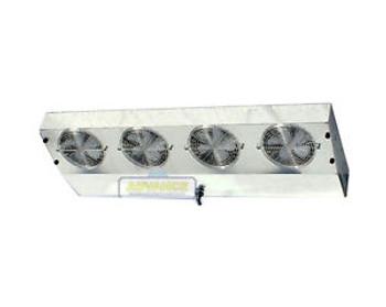 Thin Profile Reach-In Freezer Evaporator 4 Fans Blower 2,850 BTU, 340 CFM, 220V