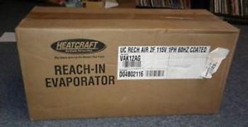Heatcraft Bohn VAK12AG Reach In Evaporator 2 Fan 115V 1PH 60Hz Coated