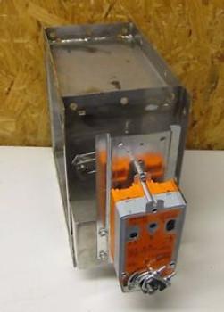 GREENHECK HCD-120 12X12 12 X 12 10 BOLT FLANGE AFB24-MFT-S 24V CONTROL DAMPER