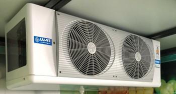 Low Profile Walk-In Cooler Evaporator Blower 1 Fans 6,650 BTU 120-230V,  R-404A*