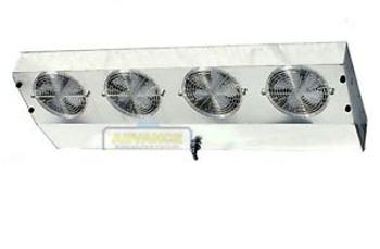 Thin Profile ETL Reach-In Cooler Evaporator 4 Fans Blower 4300 BTU 520CFM 220V