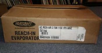 Heatcraft Bohn TA17AG Reach In Evaporator 2 Fan 115V 1PH 60Hz