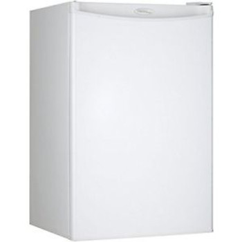 Danby Designer DCR044A2WDD Compact Refrigerator 4.4-Cubic Feet White