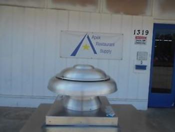 Jencofan Direct Drive Dome Fan Model ARE 12 Commercial Kitchen #2688