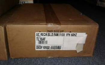 Heatcraft Reach In Evaporator TL16AF UC RECH EL 2 FAN 115V 1PH 60HZ