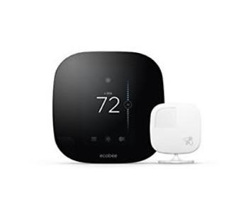EcoBee3 Smart Thermostat Wi-Fi w/ Remote Sensor  - Smarter Bundle by ecobee