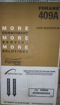 FORANE R409A Refrigerant new 30lb Tank