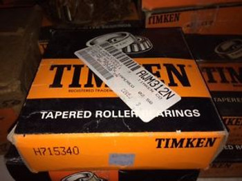 (1) Timken H715340 Tapered Roller Bearing, Single Cone, Standard Tolerance, Stra