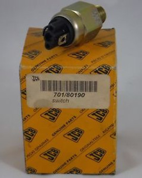 (H)  New Genuine Oem Jcb Pressure Sensor Switch Jcb Part# 701/80190