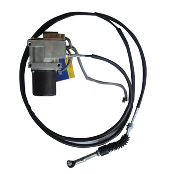 106-0092X Excavator Throttle Motor Single Cable For Caterpillar E320 Excavator
