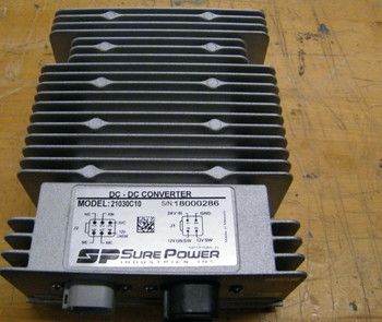 New Sure Power 21030C10 24V Dc To 12V Dc Converter 30A In Box