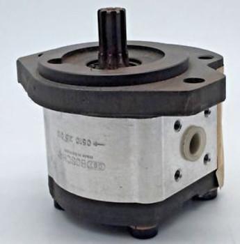 Bosch Rexroth 0 510 325 013 Single Gear Pump 5.5 Cc Cw 0510325013 Sae Mount