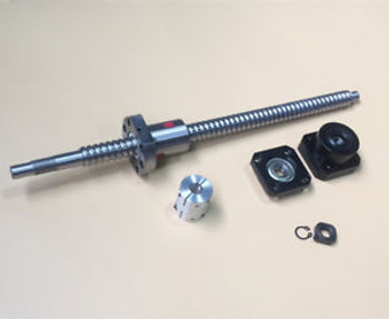 2Pcs Rm1610 Ballscrew L1020/1020Mm & Fk/Ff12 & Coupler [M_M_S]