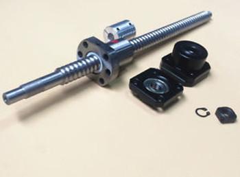 2Pcs Rm1605 Ballscrew L400/530Mm & Fk/Ff12 & Coupler [M_M_S]