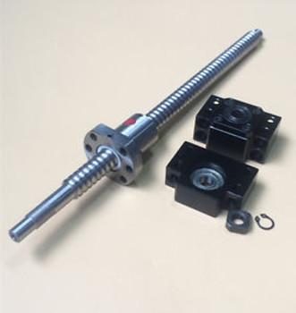 2Pcs Rm1610 Ballscrew L716/716Mm & Bk/Bf12 & Coupler [M_M_S]