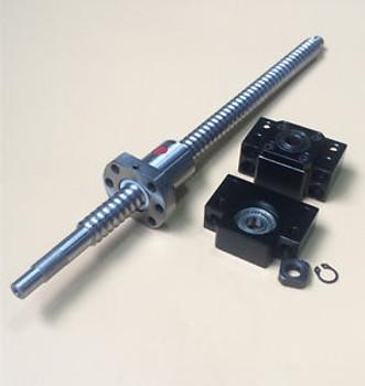 3Pcs Rm2005 Ballscrew L350/680/850Mm & Bk/Bf15 & Coupler [Miss]