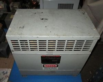 FEDERAL PACIFIC FH7.5CEMD DRY TYPE MOTOR 3PH ISOLATION TRANSFORMER 7.5KVA (37)