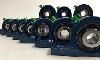 (10 Pieces) 2 Pillow Block Bearing, Ucp211-32 Solid Foot P211