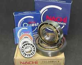 (10) 6214 2Nse C3 Nachi Bearing Japan 70X125X24Mm 6214 2Rs  Rs Double Sealed