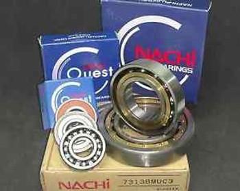 (100) 6203 2Nse C3 Nachi Bearing 17X40X12Mm Japan 6203 2Rs  Rs Rubber Sealed