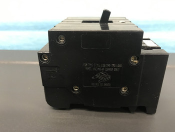 1 Square D Ehb34050 50Amp  3 Pole 480/277Vac  For Nehb Panel