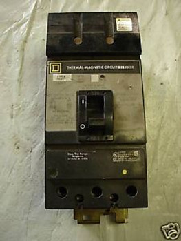 Square D 125 Amp Panel Breaker KA36125