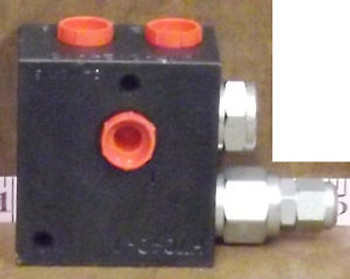 1 New Pioneer H7040-1 Flow Divider/Combiner For Tarp Systems