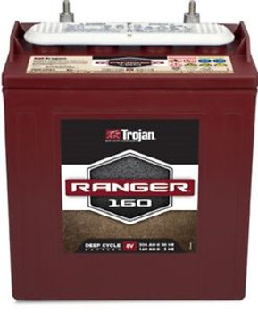 Battery Trojan Ranger 160 8V 204 Ah Deep Cycle For Extended Use Flooded Each