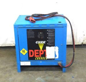 Exide Battery Charger, D3E-12-1050, 24 Volt, 168 Amp Max, 1050 Amp Hours