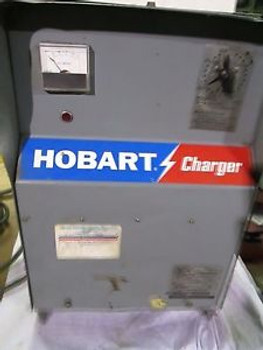 Hobart Forklift Battery Charger Model: Ir6-380