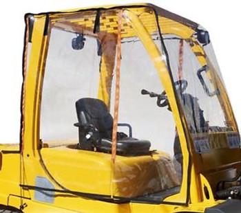 Eevelle Atrium Full Forklift Cab Enclosure Super Clear Vinyl - Fits 12,000+ Lbs