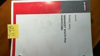 Case 1680 Combine Prior To Pin Jjc0045689 Parts Catalog Manual 8-3173 5/96