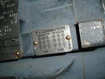 Baldor 7.5 Hp Electric Motor 3 Ph 230/460 V