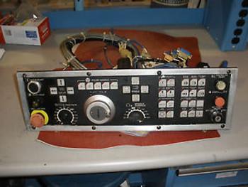 Okuma Cnc Lathe  Lc-40-25C Opus 5000 Control Lower Key Board