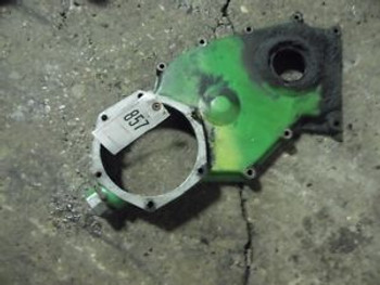 Jd 4620 Tractor Front Engine Timing Cover W/ Fillcap Part #R50352 Tag #857