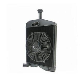 3Row Tractor Radiato+Fan For Massey Ferguson 20C 230 245 Gas& Diesel 53991M91 St