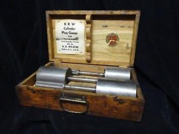 Kr Wilson Cylinder Plug Gauge For Ford 60, 85, 95 Ford-Fergunson Tractor & Case