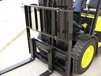 New Adjustable Forklift Load Backrest Fits 36-50In. Carriage Width  (X1067-100F)