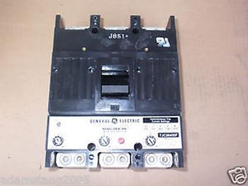 GE TJC TJC36400F 3 pole 400 amp trip 600v breaker