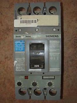 SIEMENS FXD63B225 SENTRON CIRCUIT BREAKER 600 VOLT