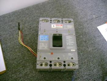 SIEMENS SENTRON CIRCUIT BREAKER CATLXD63B500 500A/600V/3POLE W/SHUNT & AUX