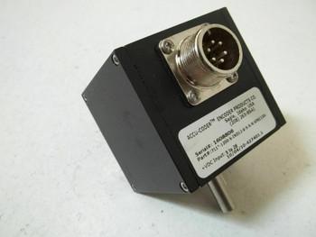 ACCU-CODER 711*-1200-S-IND12-6-S-S-N INCREMENTAL SHAFT ENCODER