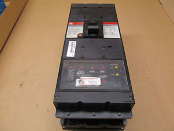 1 GE TKH8SS HI- BREAK CIRCUIT BREAKER WITH MOUNTING HARDWARE AND RMS-9 TRIP 800A