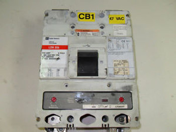 (H13) 1 CUTLER-HAMMER LDB2600W SEALED CIRCUIT BREAKER 600A 2P