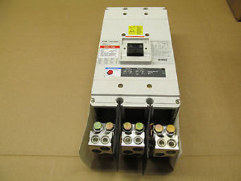 1 CUTLER HAMMER CNDC312T36W CNDC CIRCUIT BREAKER WITH GROUND FAULT 1200AMP 600V