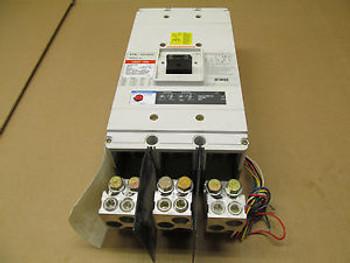 1 CUTLER HAMMER CNDC CNDC312T36W 1200 AMP 600 V WITH DIGITRIP RMS 310 TRIP UNIT