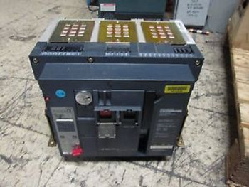 Square D Masterpact Circuit Breaker NW 30 H 3000A Frame Micrologic 6.0A Trip