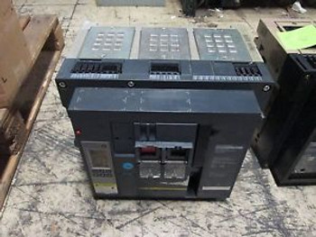 Square D Masterpact Circuit Breaker NW 30 H 3000A Frame Micrologic 6.0P Trip