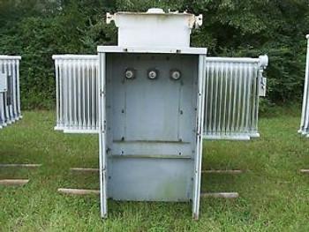 Transformer Substation Westinghouse 1000 Kva 13,800 Pri 480Y/277 Sec Copper